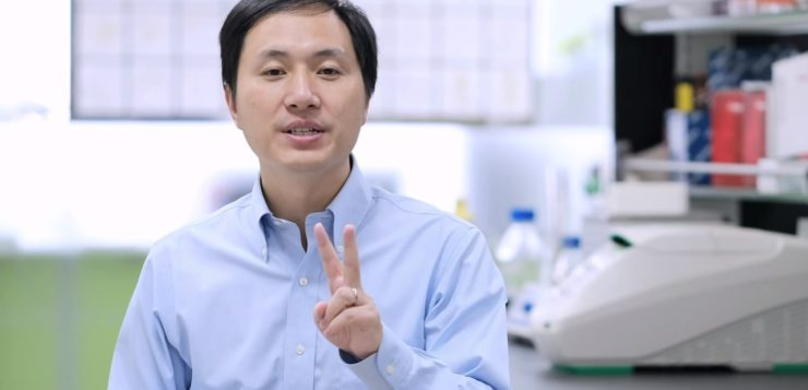 AN cientista chines bebes geneticamente modificados