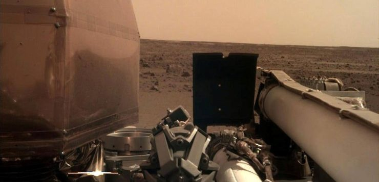 AN sonda insight marte 2