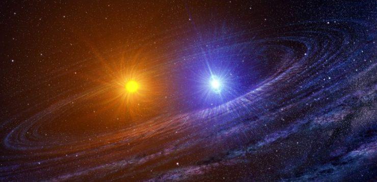 estrela irmã gêmea sol