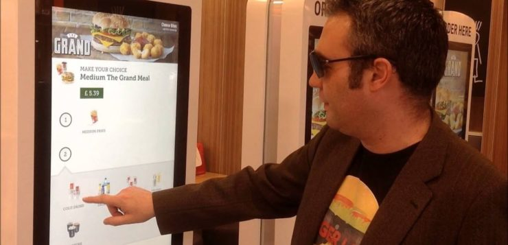 touchscreens mcdonalds coliformes fecais