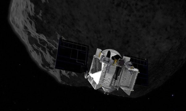 AN Nasa Osiris-Rex Bennu menor asteroide