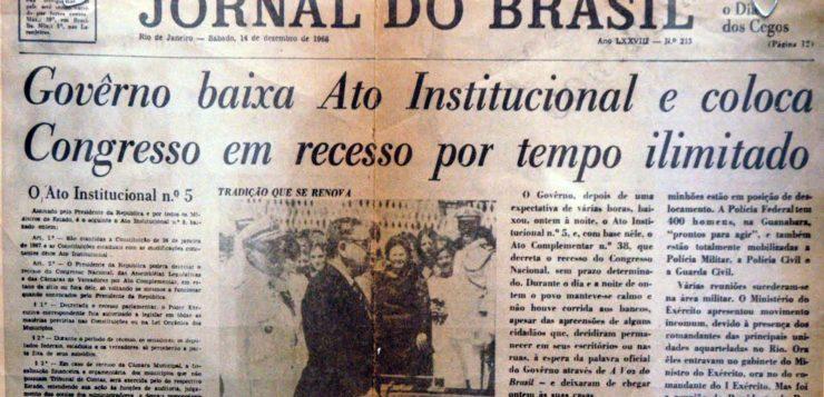 Os 50 anos do AI-5, que suspendeu garantias legais no Brasil