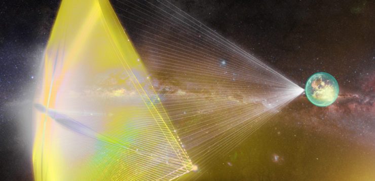 breakthrough starshot laser