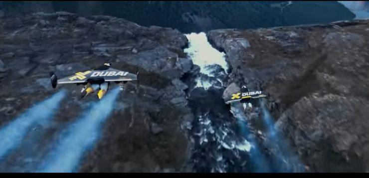 Homens de Ferro da vida real voam pela primeira vez; assista