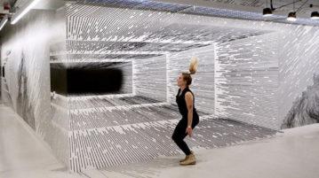 ilusões de ótica linhas retas