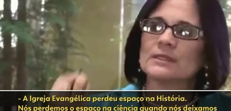 AN damares alves teoria da evolucao