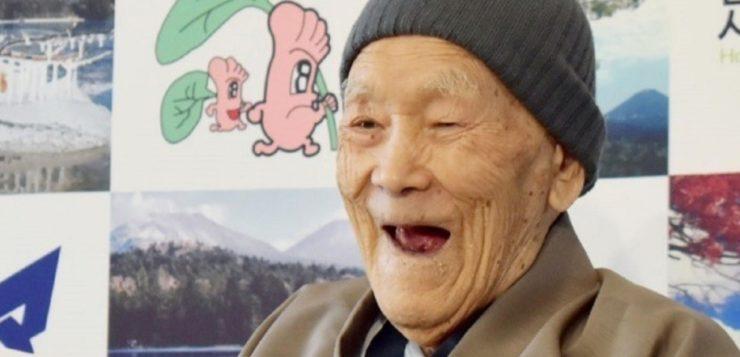 AN homem mais velho do mundo