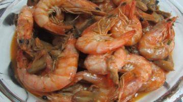 alergias a alimentos camarão
