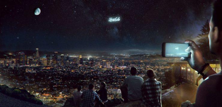 anúncios publicitários órbita terra