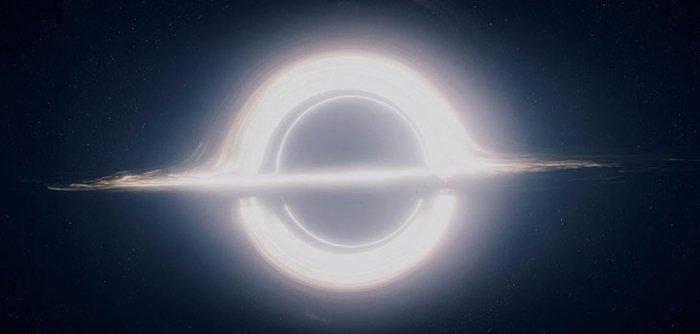 O buraco negro de Interestelar.