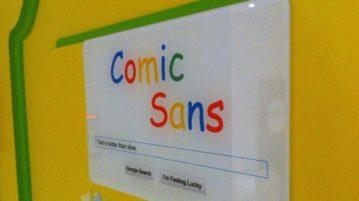 comic sans-capa