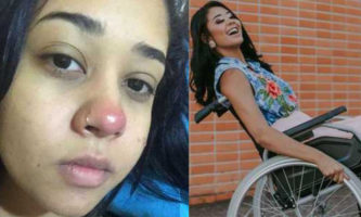 paraplégica piercing