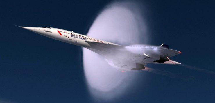 Quebrando a barreira do som: como funciona um avião supersônico?