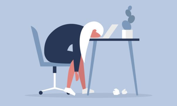 AN sindrome de burnout estresse no trabalho