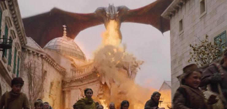 fogo dragão game of thrones