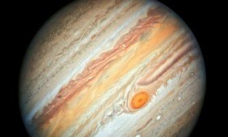 mancha vermelha em júpiter