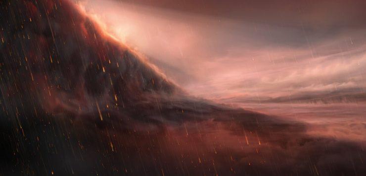 planeta chove ferro