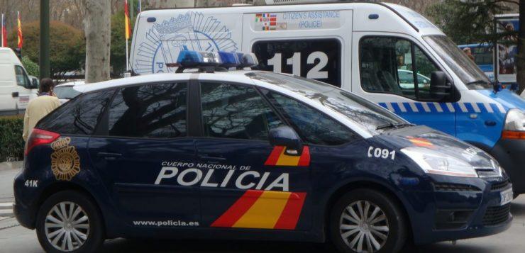policia espanha quarentena