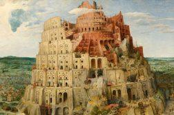 primeiro idioma torre de babel