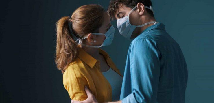 sexo mascara coronavirus