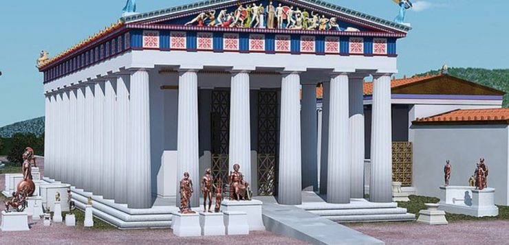 grécia antiga templos rampas