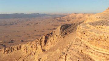 deserto negev areia