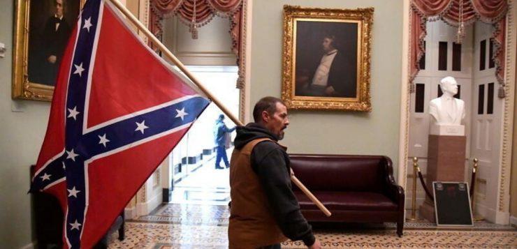 Por que a bandeira confederada causa tanta polêmica nos Estados Unidos