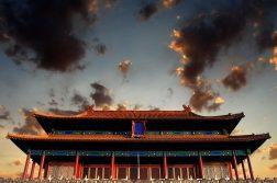 china nuvens