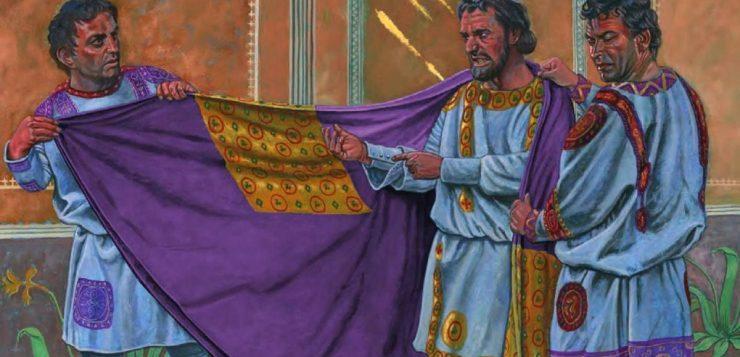 Púrpura tíria: o que era o pigmento de cheiro forte e que valia ouro