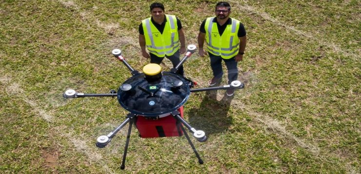 ambev drone