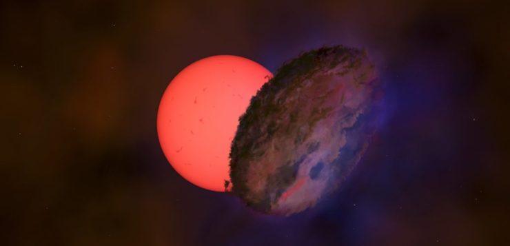 Estrela gigante que pisca é detectada perto do centro da galáxia; entenda
