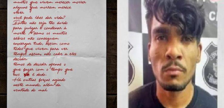 Vídeo: polícia encontra vela e carta deixadas pelo serial killer do DF