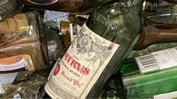 garrafa de vinhos