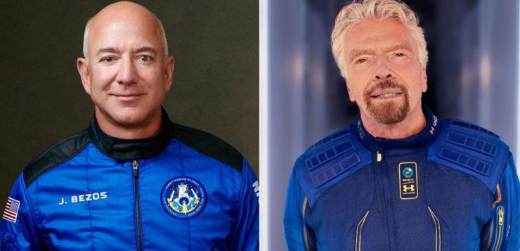 Rinha de bilionários? Jeff Bezos afirma que rival não foi ao espaço