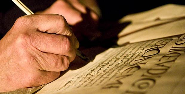 escrevendo-codex-gigas
