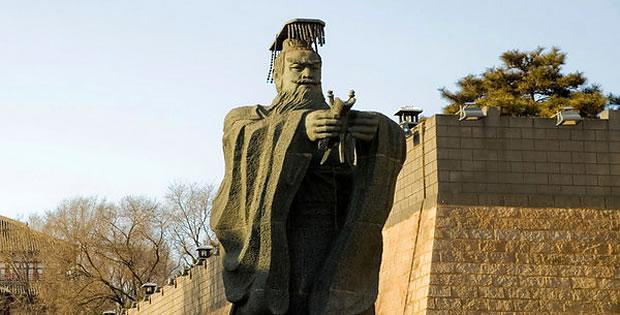 estatua-qin-shi-huang-di
